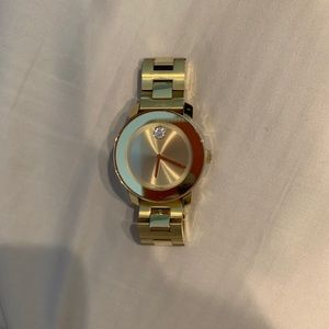 Women's Gold Movado Watch